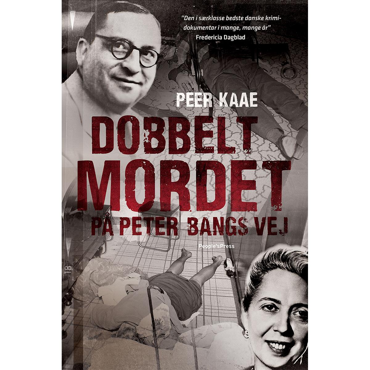 Image of   Dobbeltmordet på Peter Bangs Vej - Paperback