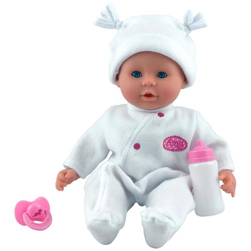 Image of   Dolls World dukke - Little Treasure - Hvid