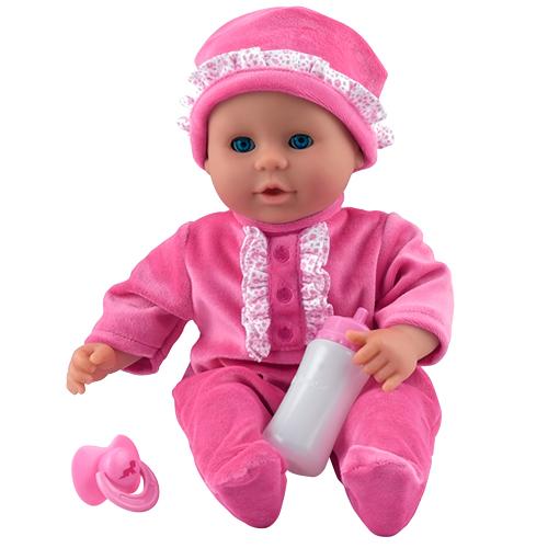 Image of   Dolls World dukke - Little Treasure - Pink