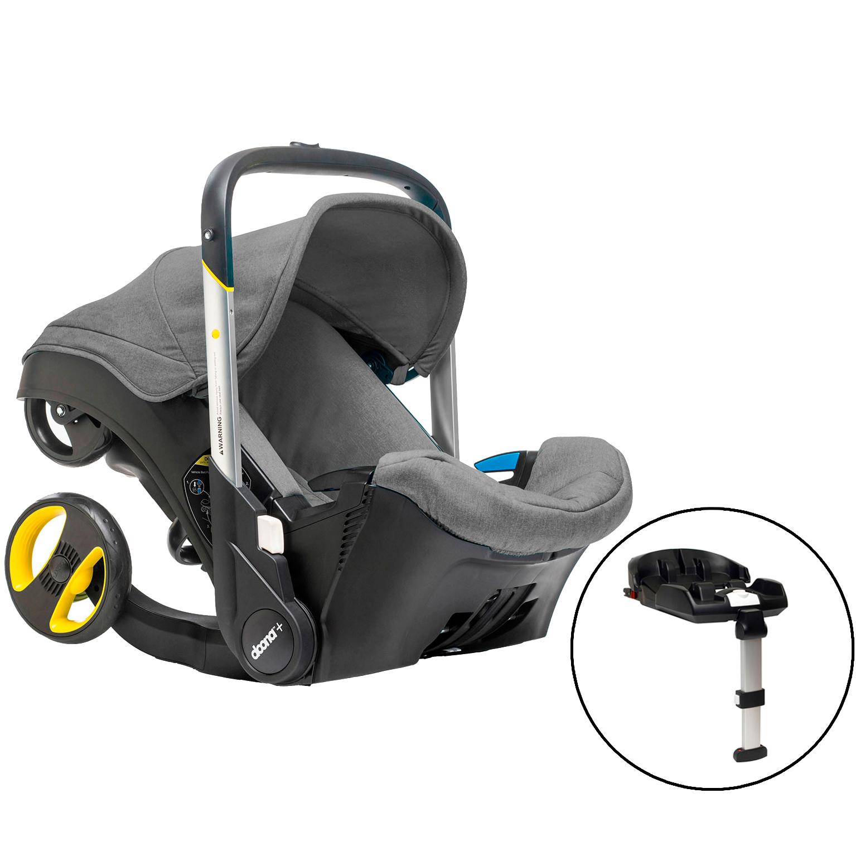 Doona+ autostol og klapvogn i ét - Grå - 0-13 kg