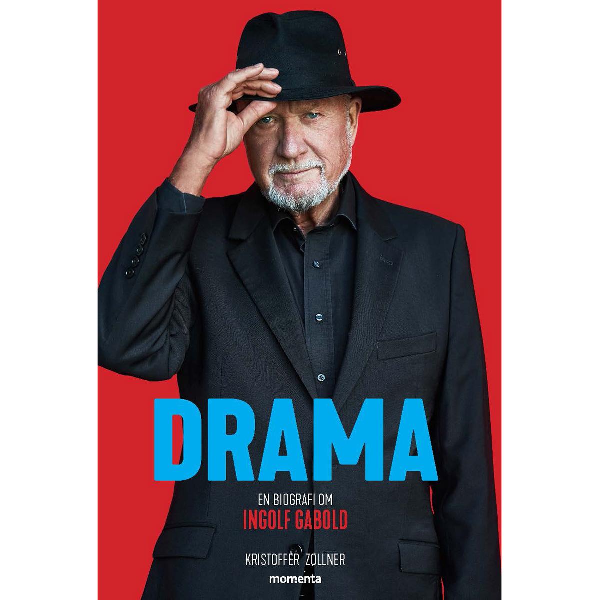 Image of   Drama - En biografi om Ingolf Gabold - Indbundet