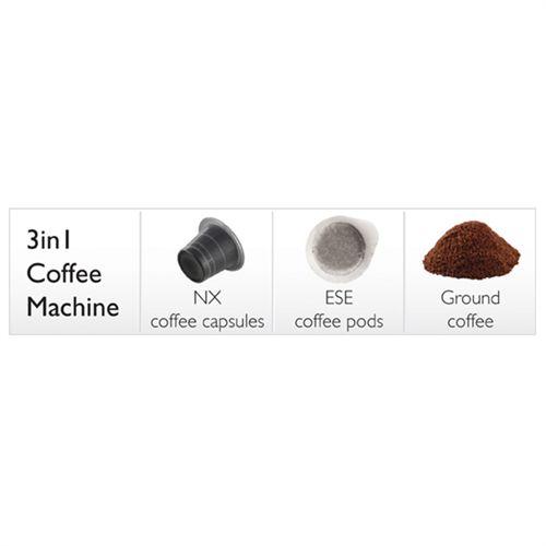 Populære Dualit espressomaskine - 84450 Kan bruges til både malet kaffe MN-17
