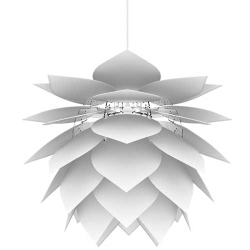 Image of   Dyberg Larsen pendel - Illumin DripDrop - Hvid