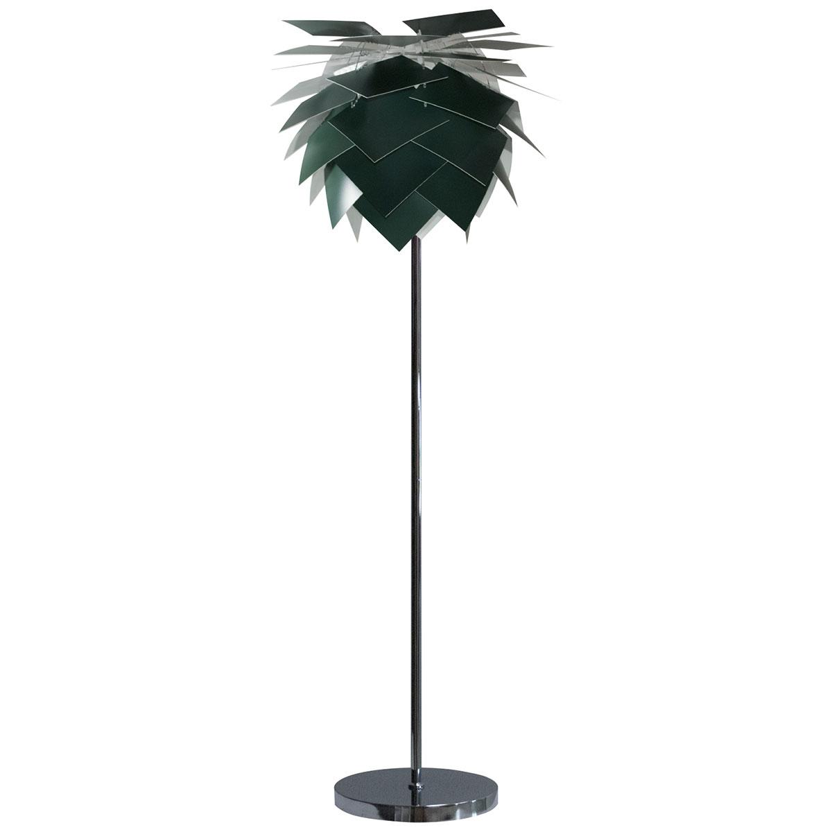 DybergLarsen gulvlampe - PineApple - Dark green