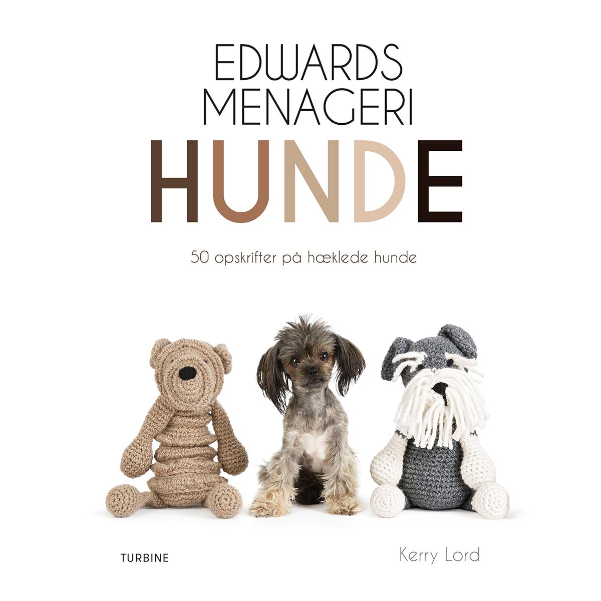 Image of   Edwards menageri - Hunde - 50 opskrifter på hæklede hunde - Hæftet