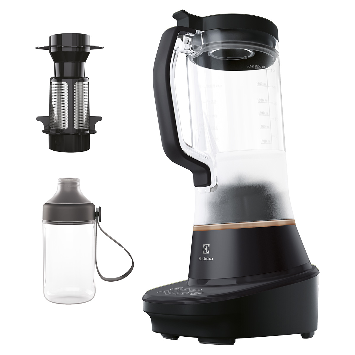 Image of   Electrolux bordblender E7TB1-4GB - Granite Black