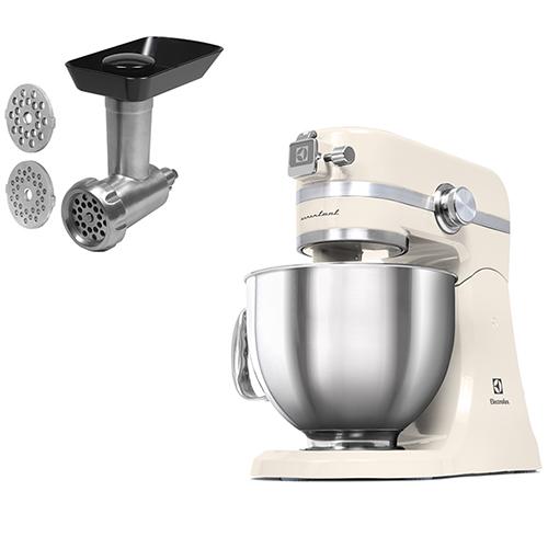 Image of   Electrolux køkkenmaskine med kødhakker - Assistent - Creme