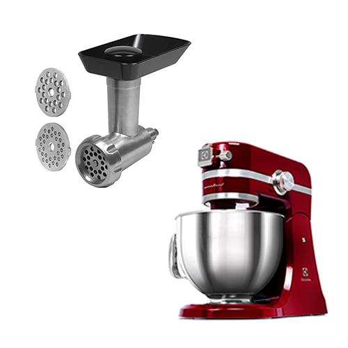 Electrolux køkkenmaskine med kødhakker - Assistent - Rød
