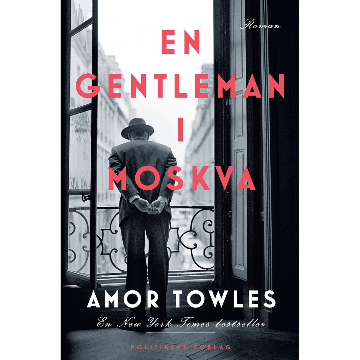 Image of   En Gentleman i Moskva - Indbundet