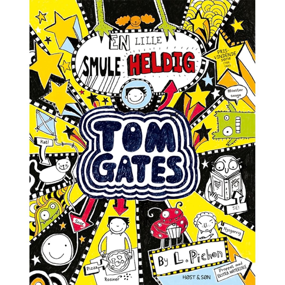 En lille smule heldig - Tom Gates 7 - Hæftet