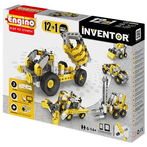 Image of   Engino 12-i-1 byggesæt - Inventor - Maskiner