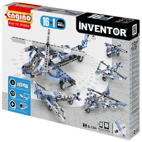 Image of   Engino 16-i-1 byggesæt - Inventor - Luftfartøjer