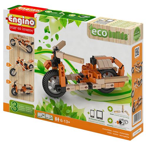 Image of   Engino 3-i-1 byggesæt - eco - Motorcykler