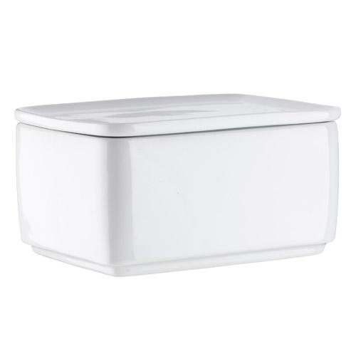 Enkel smørboks - Hvidpot