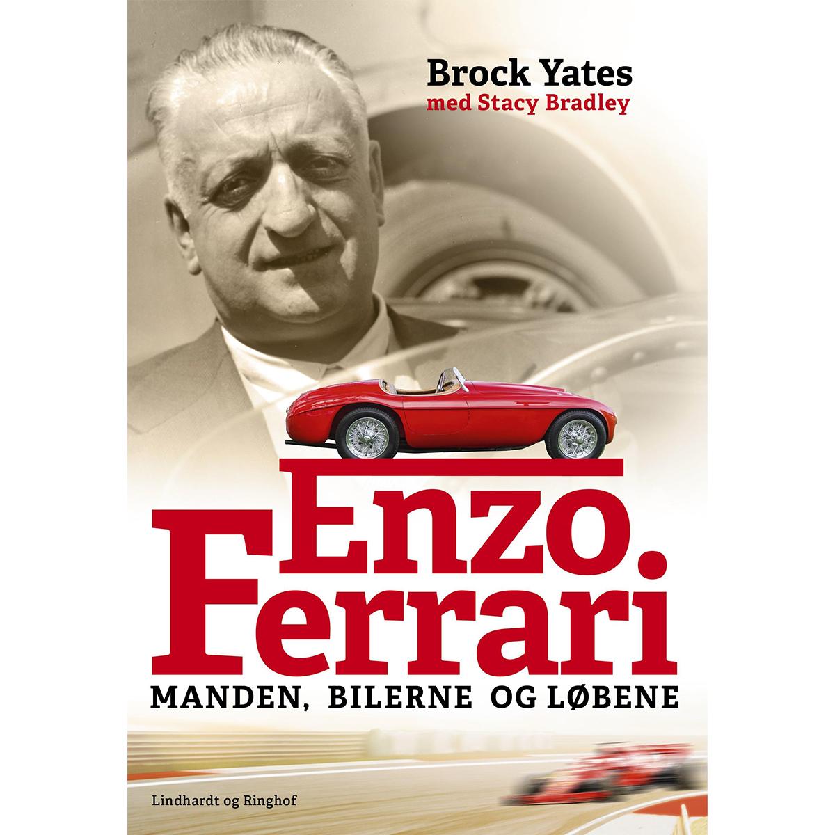 Enzo Ferrari - Manden, bilerne og løbene - Indbundet