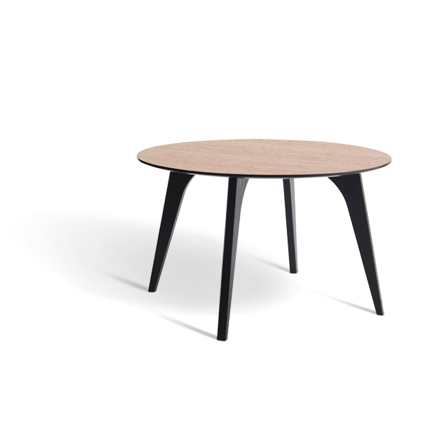 Erik Bagger spisebord - Jazz Table - Sort/natur