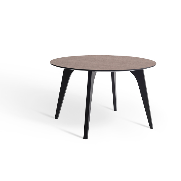 Erik Bagger spisebord - Jazz Table - Sort/natur
