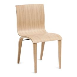 Image of   Erik Bagger stol - Copenhagen Chair Three - Natur