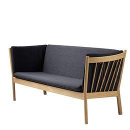 Erik Ole Jørgensen 3 pers. sofa - J149 - Eg/mørkegrå