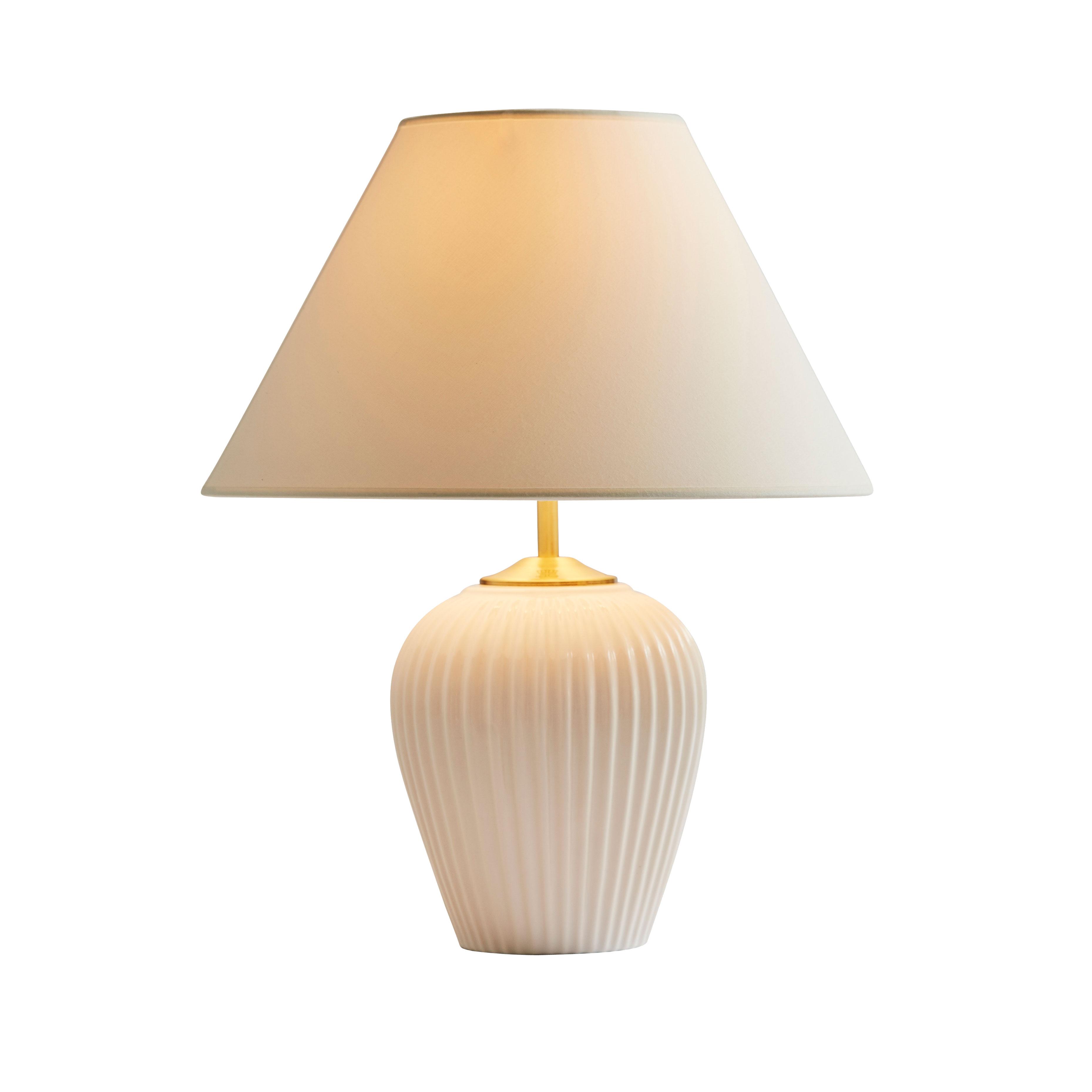 Image of   Eslau bordlampe - Hvid