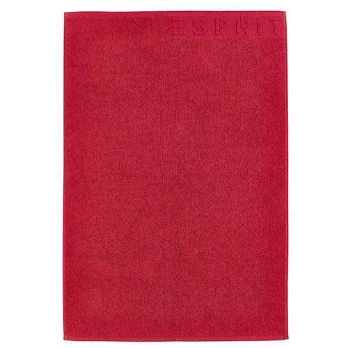 Esprit bademåtte - Solid - Rød
