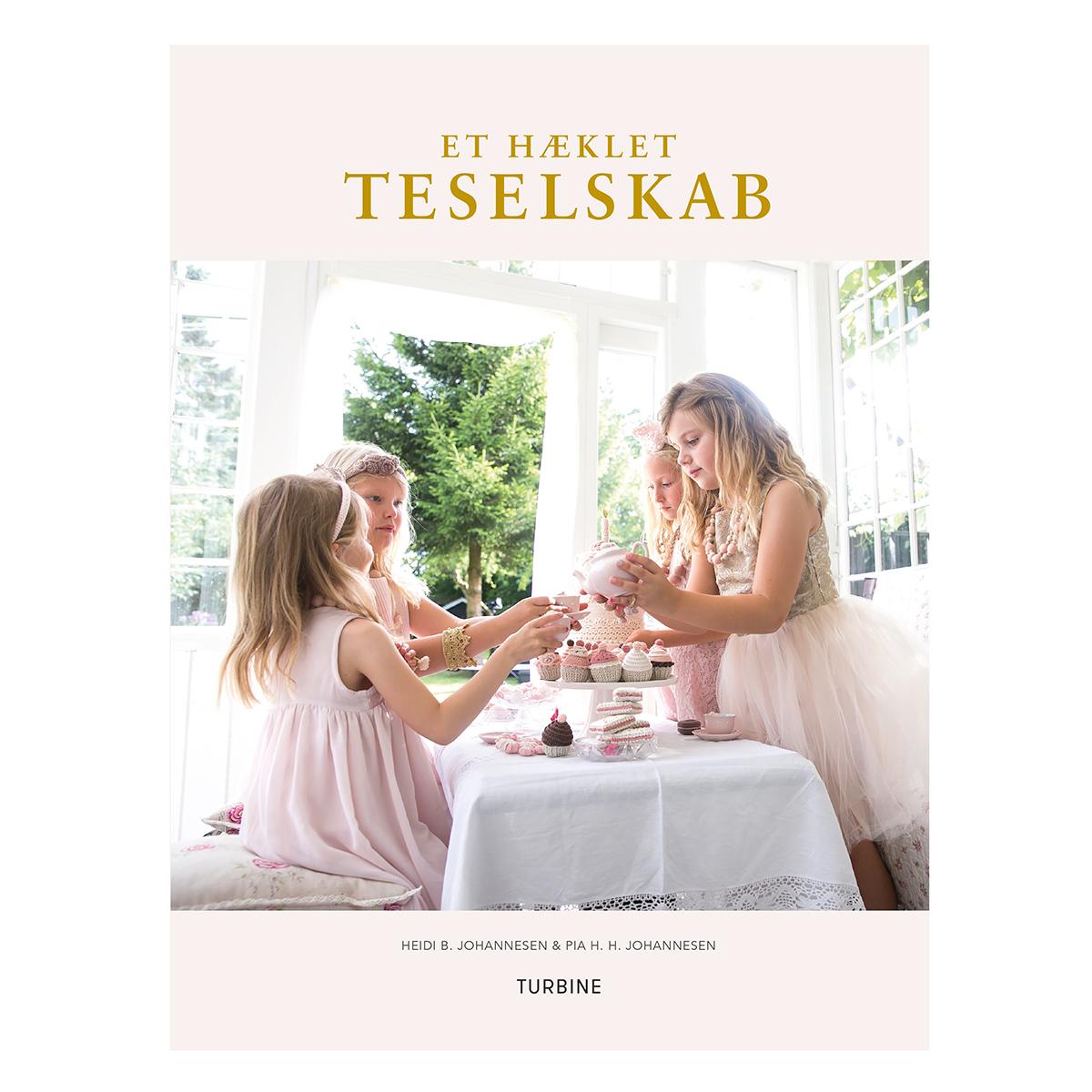 Image of   Et hæklet teselskab - Hæftet