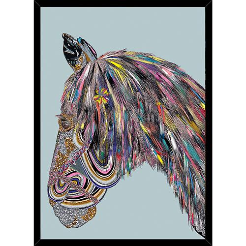 Image of   Eurotrash Horse plakat i ramme - af Anne-Sofie Holm