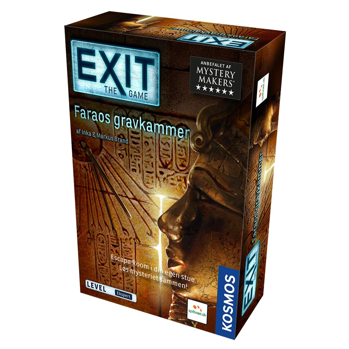 Image of   Exit - Faraos gravkammer