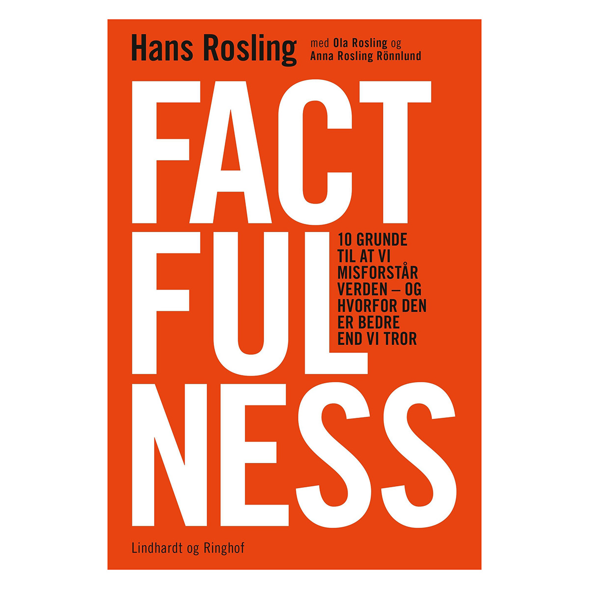 Image of   Factfulness - Hæftet