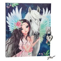 Image of   Fantasy Model dagbog - Model med Pegasus