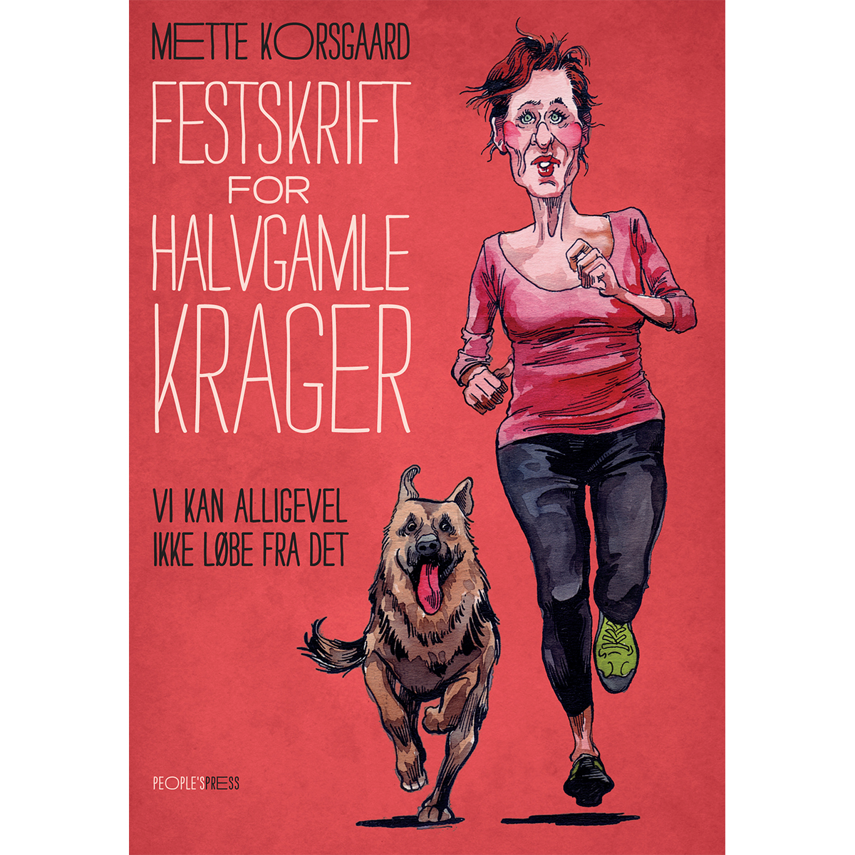 Image of   Festskrift for halvgamle krager - Hæftet