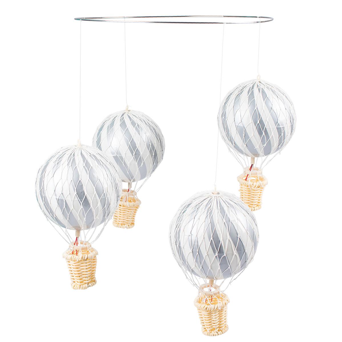 Image of   Filibabba uro - Luftballon - Sølv