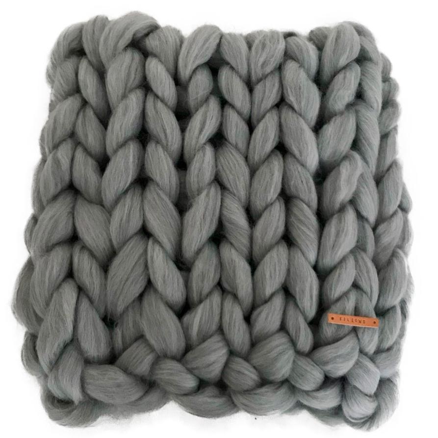 Image of   Fillows babytæppe - Chunky Baby - Light stone grey