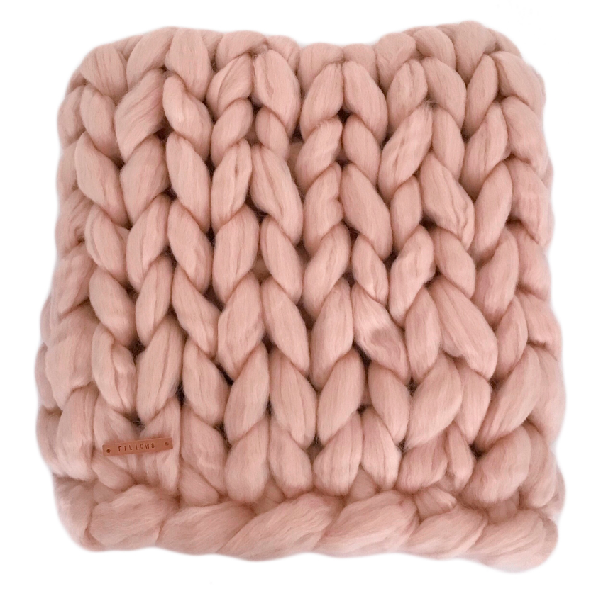 Image of   Fillows tæppe - Chunky Medium - Soft peach