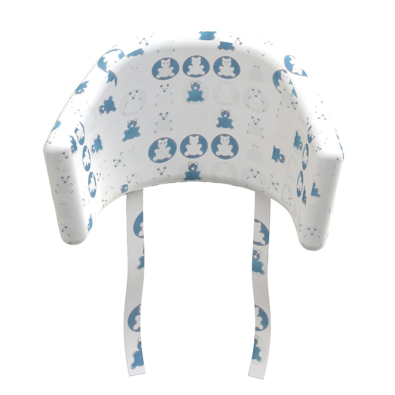 Billede af Flexa pude til højstol - Baby - Blå