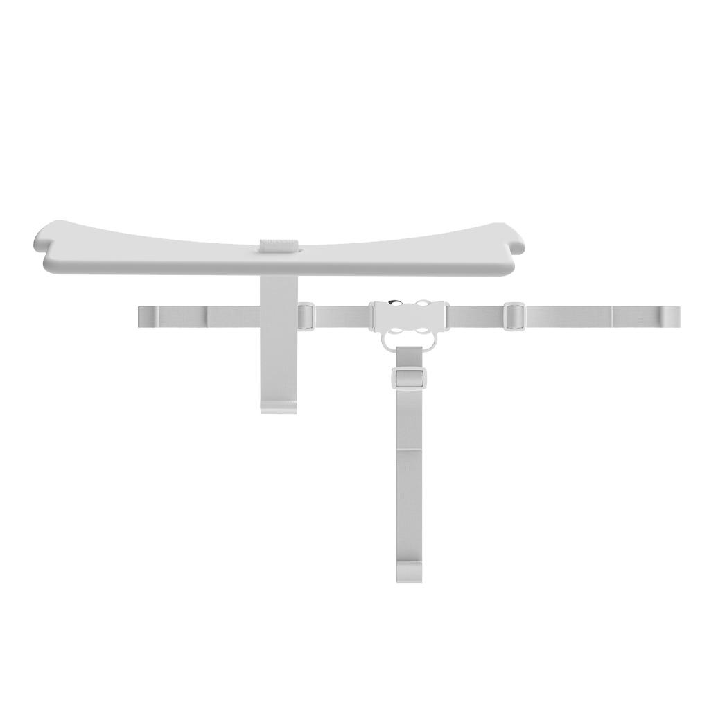 Billede af Flexa sikkerhedsbøjle og -sele til højstol - Hvid
