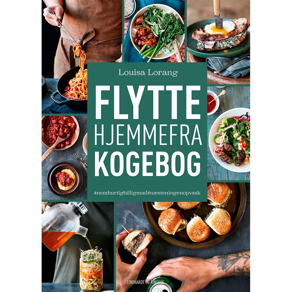 Image of   Flyttehjemmefra-kogebog - Indbundet