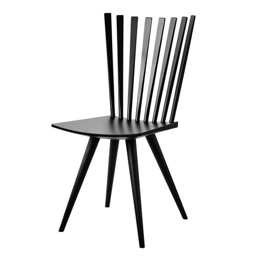 Billede af Foersom & Hiort-Lorenzen stol - Mikado J152 - Sort