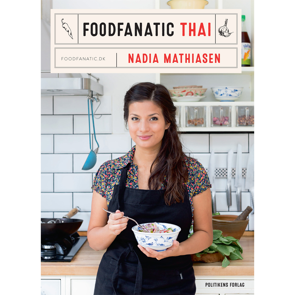 Image of   Foodfanatic thai - Indbundet