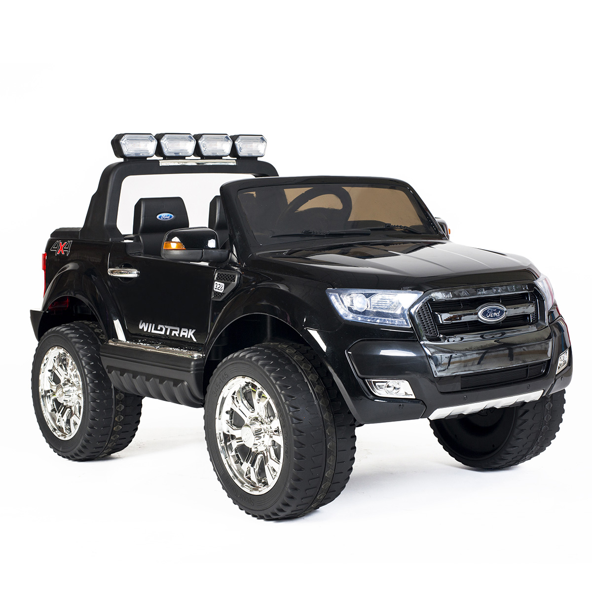 Ford elbil - Ranger F650 - Sort