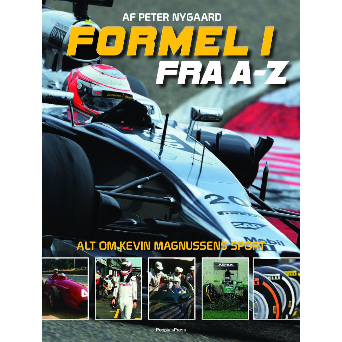 Image of   Formel 1 - fra a-z - Indbundet