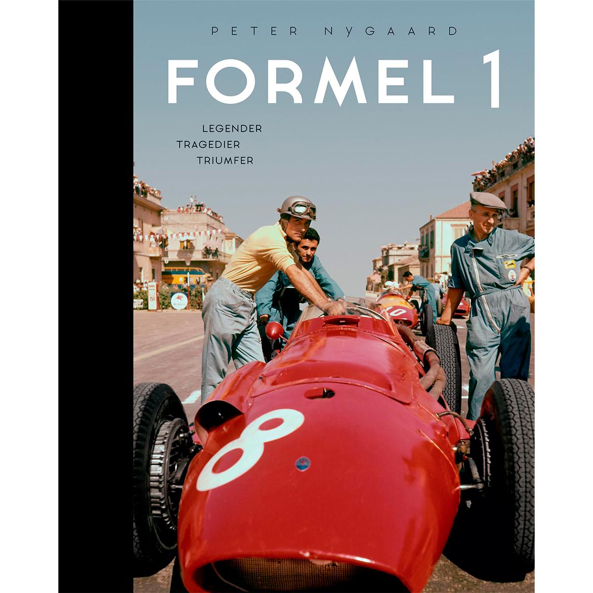 Image of   Formel 1 - Legender, tragedier, triumfer - Indbundet