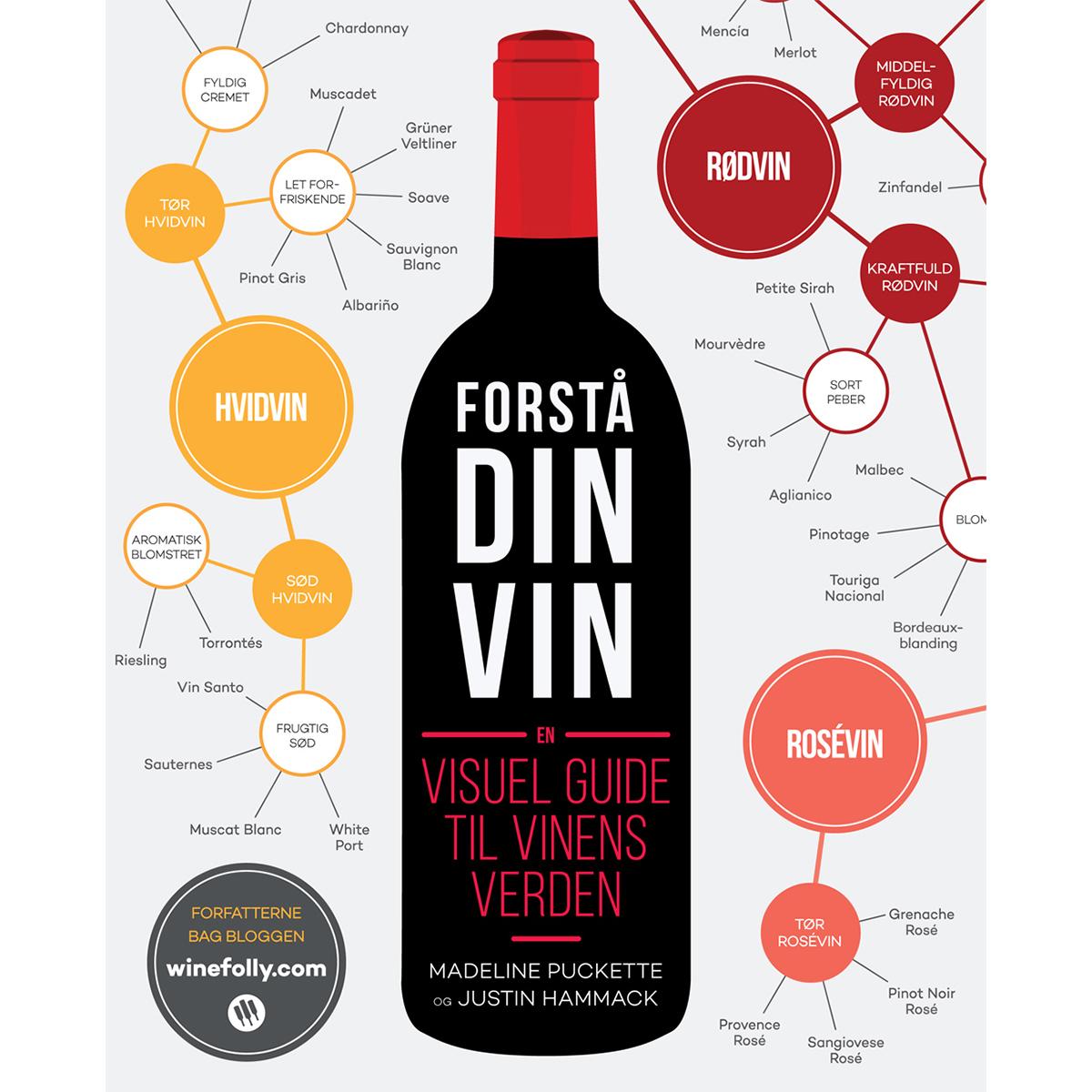 Image of   Forstå din vin - En visuel guide til vinens verden - Indbundet