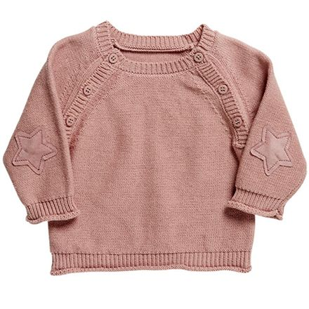 Friends sweater - Rosa Str. 50-68 - 100% bomuld
