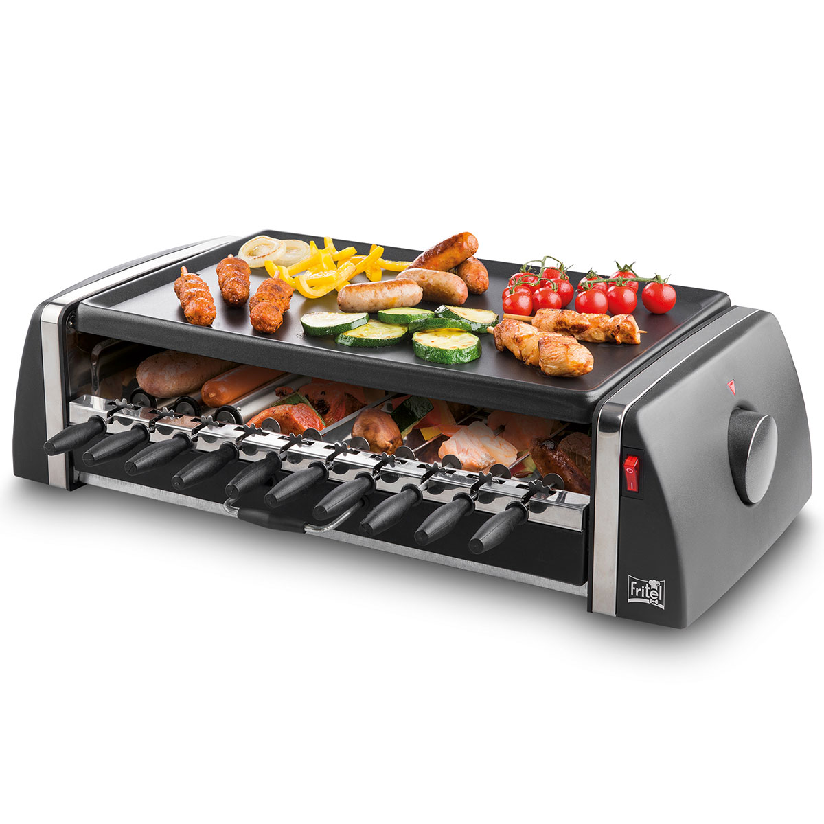 Image of   Fritel bordgrill - GT2195 Grill & Twist XL