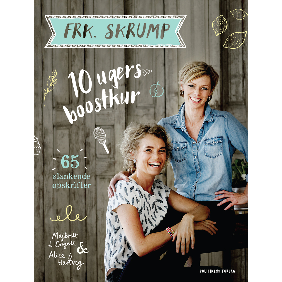 Image of   Frk. Skrump - ti ugers boostkur - Indbundet