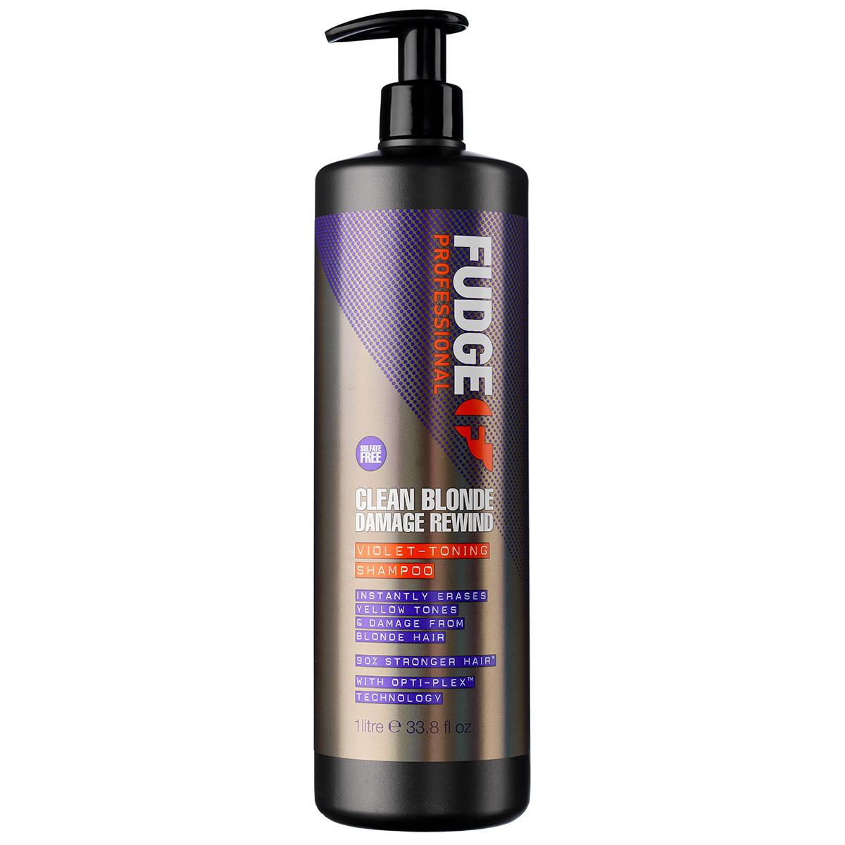 Image of   Fudge Clean Blonde Damage Rewind Shampoo - 1000 ml
