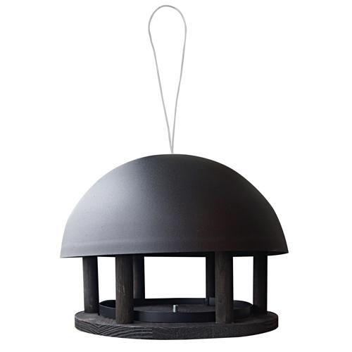 Image of   Fuglehus til ophængning - Dome Black