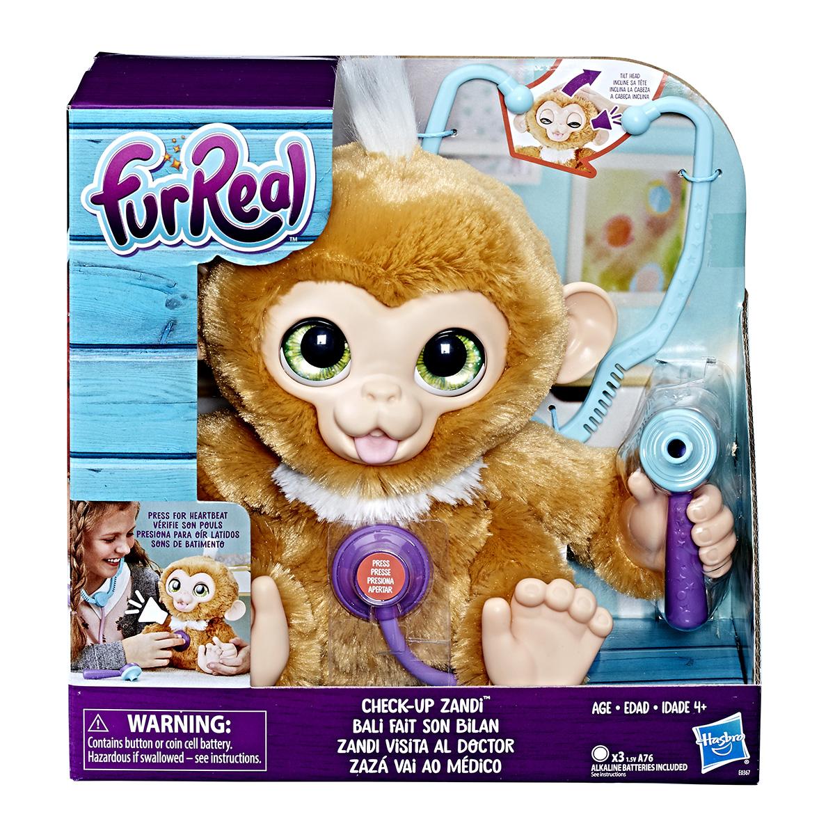 Image of   FurReal interaktiv abe - Check-up Zandi