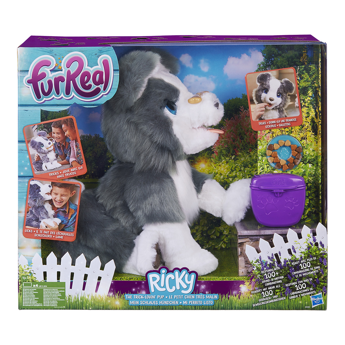 FurReal interaktiv hund - Ricky The Trick-lovin Pup